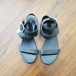 Franco Sarto Black Sandals Benita